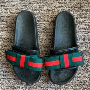 Gucci Faux Pool Slides